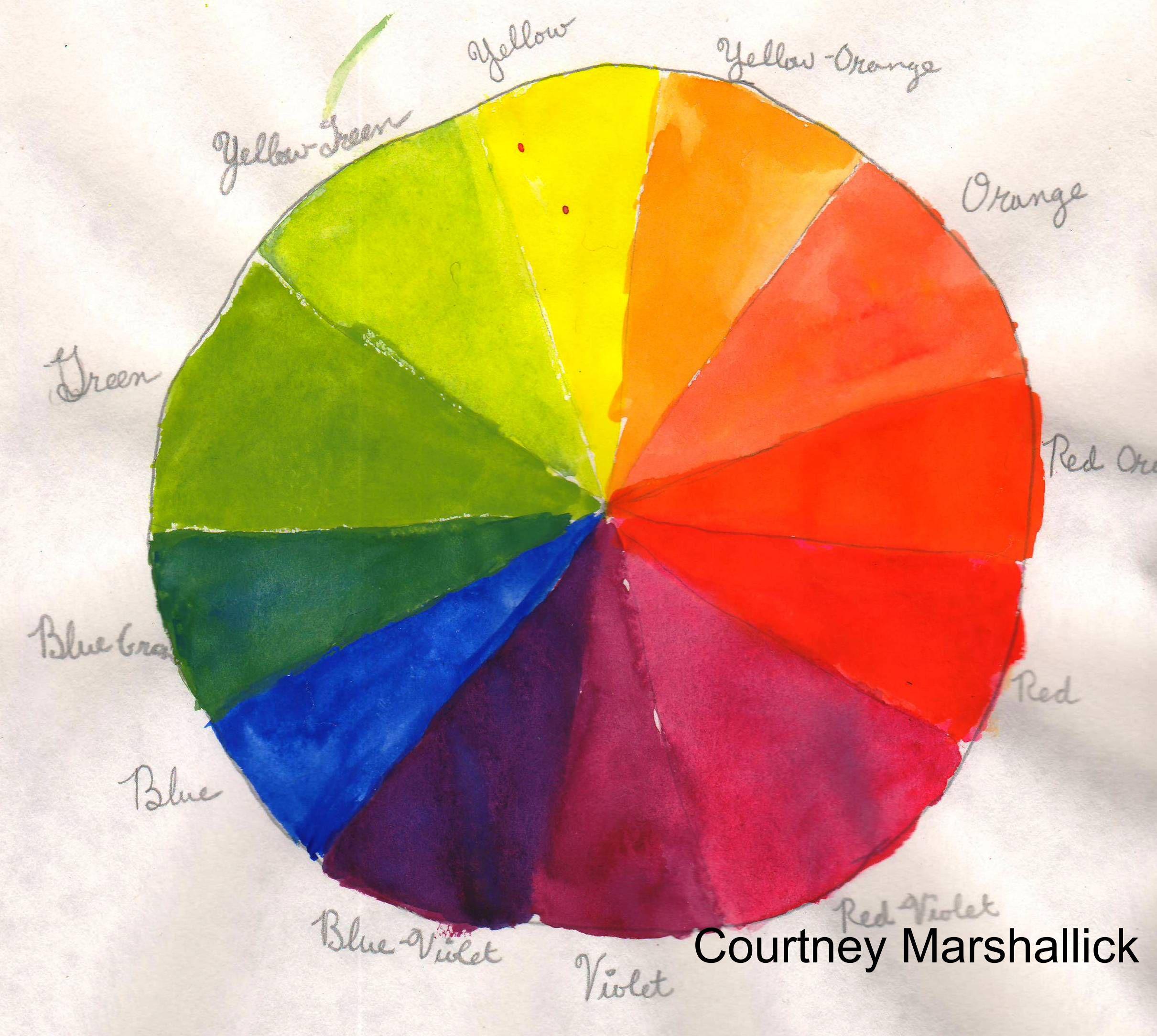 the color wheel vintage virginia. Black Bedroom Furniture Sets. Home Design Ideas