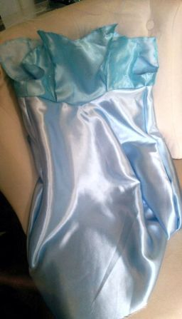 Frozen: How my brain feels after sewing this