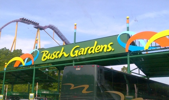 Busch Gardens Williamsburg Vintage Virginia